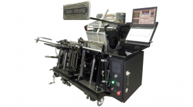 122X1 CAVOMIT HEIDELBERG GT 34X46 HOT STAMPING & HOLOGRAM REGISTRATION MACHINE B